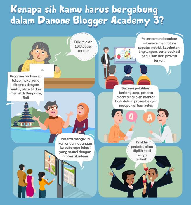 Mengapa harus ikut Danone Blogger Academy?