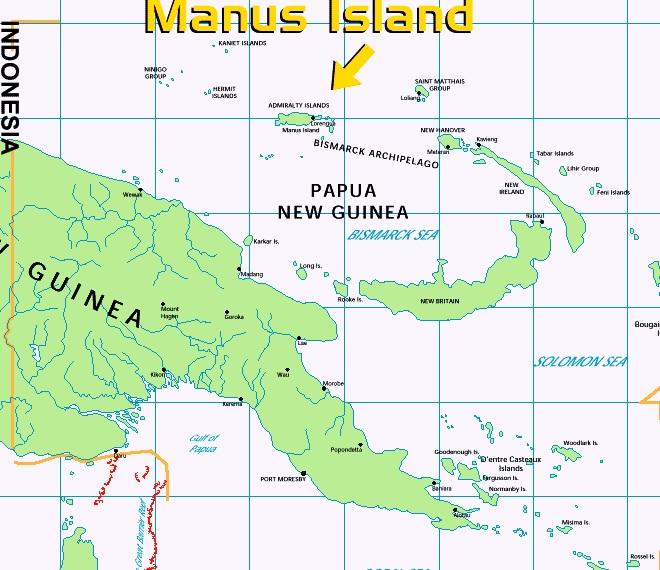 Tempat Resettle Manus Island PNG