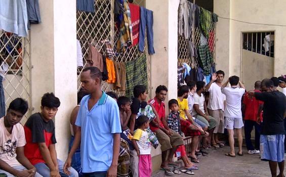 Manusia Perahu di Detensi Imigrasi Belawan