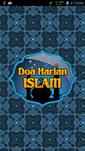 Tampilan Depan Doa Harian Islam