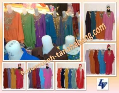 Gamis pesta sifon untuk baju lebaran 2013