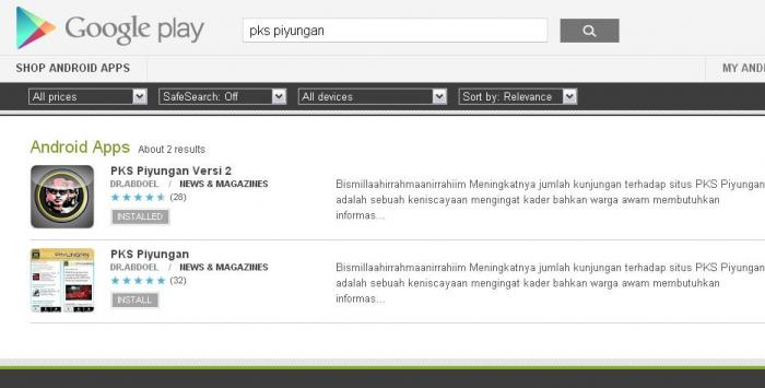 ilustrasi Google Play