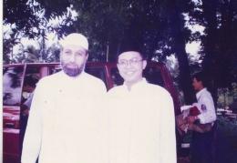 Syaikh Abdurrahman al baghdadiy bersama K.H Muhammad Shiddiq al jawi