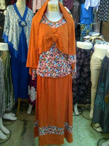 baju lebaran 2013 gamis arab