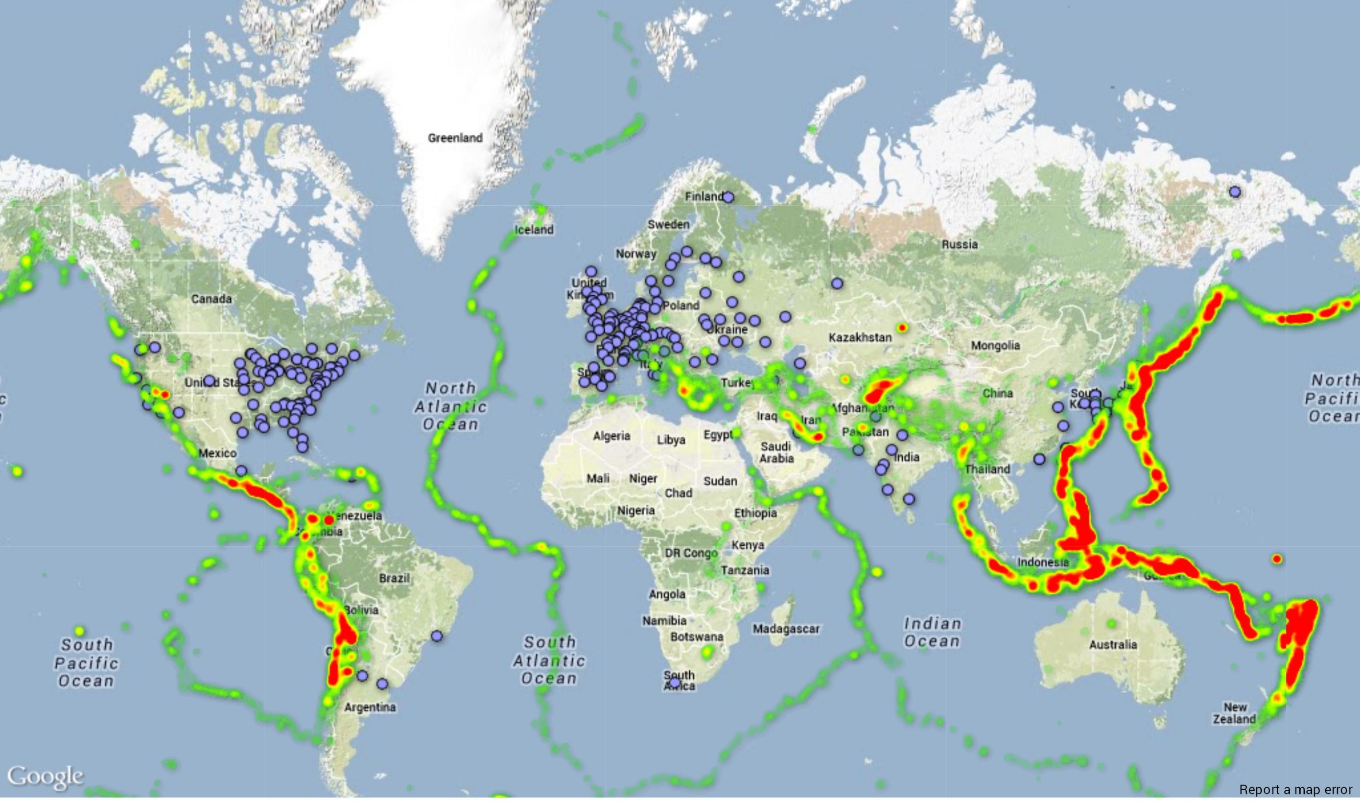 Gempa bumi yang terbesar di dunia download