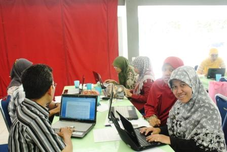 Guru-guru Yayasan Al Muslim, Bekasi