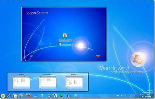 Screenshoot Windows 8