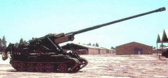 Tank M-1978 dengan konon 170mm