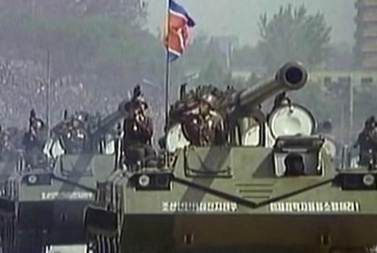 Tank dengan kanon self propelled 170mm