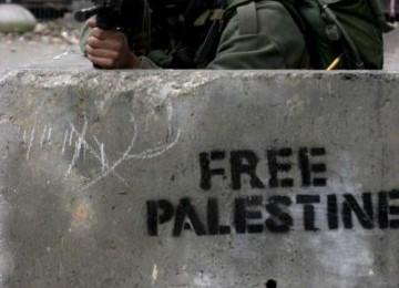 Bungker-bungker pertahanan militer Israel juga menjadi sasaran keganasan roket-roket militer pejuang pembebasan Palestina. (photo: republika.co.id)