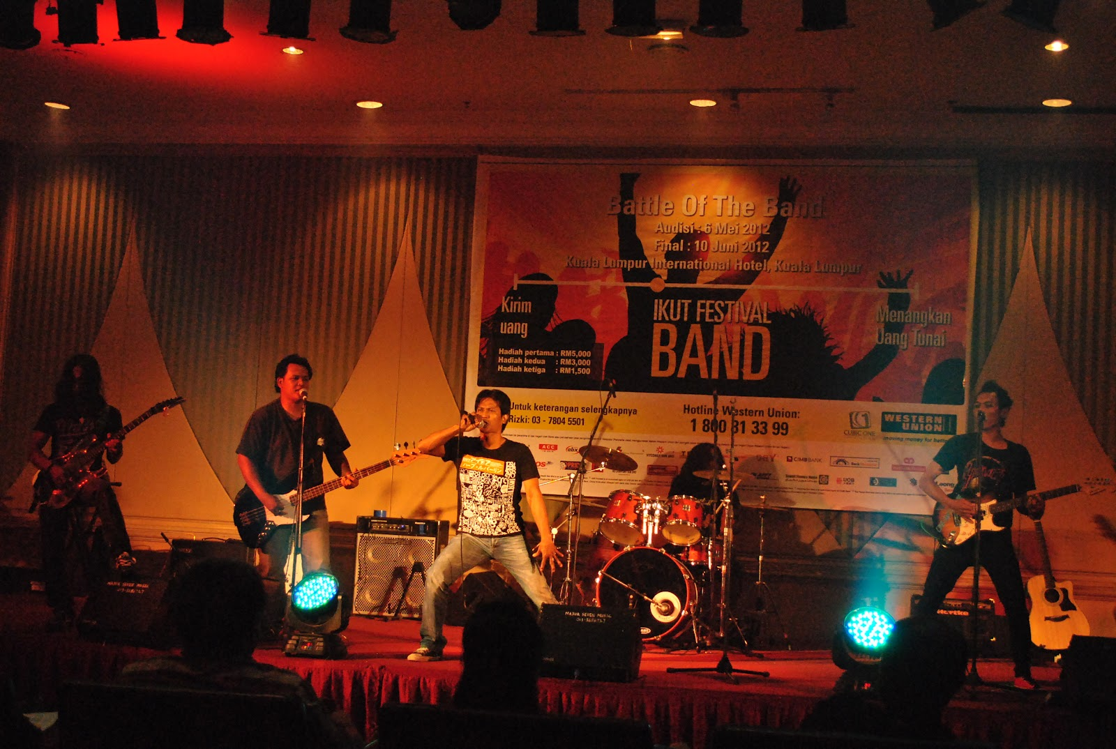 Penampilan The Mumet Band