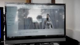 Download file syuting dari kamera ke komputer pake software bawaan kamera, Fast Motion.