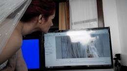 Mulan Jameela ingin melihat hasilnya di komputer