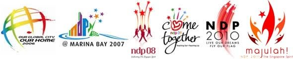 Logo Kemerdekaan Singapura