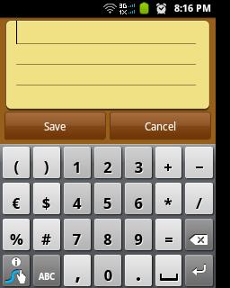 Swype Key Numeric