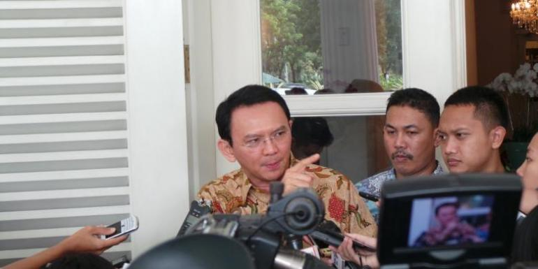 Gubernur DKI Jakarta Basuki Tjahaja Purnama / Kompas.com