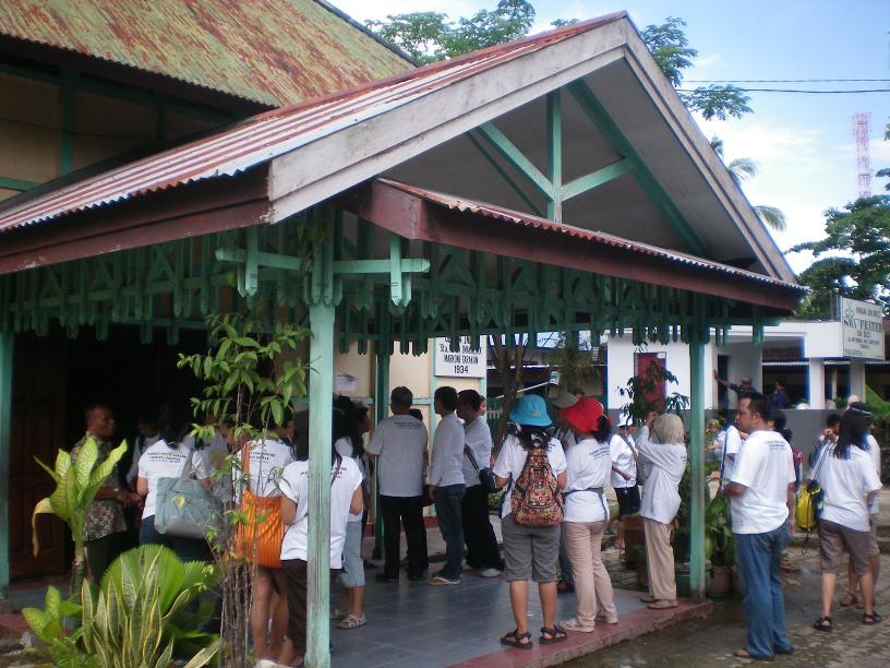 Kumpul-kumpul di Gereja Don Bosco
