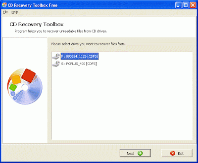 cd recovery toolbox