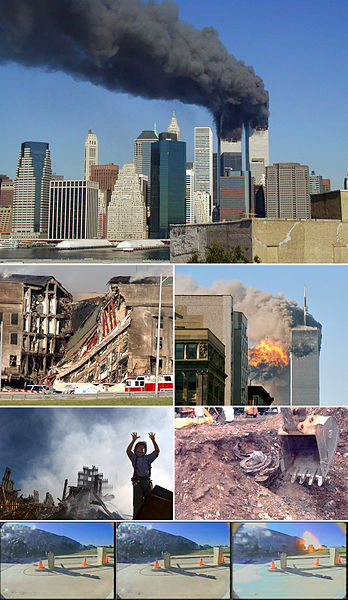 Gedung kembar WTC New York
