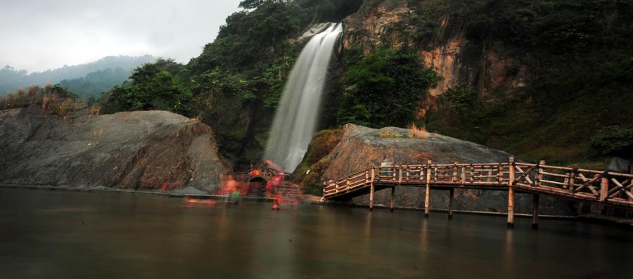 Romantisnya Air Terjun Bidadari, Bojong Koneng, Bogor