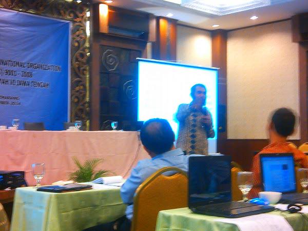 Aptisi Wilayah VI Jateng Selenggarakan Pelatihan Pengisian ISO