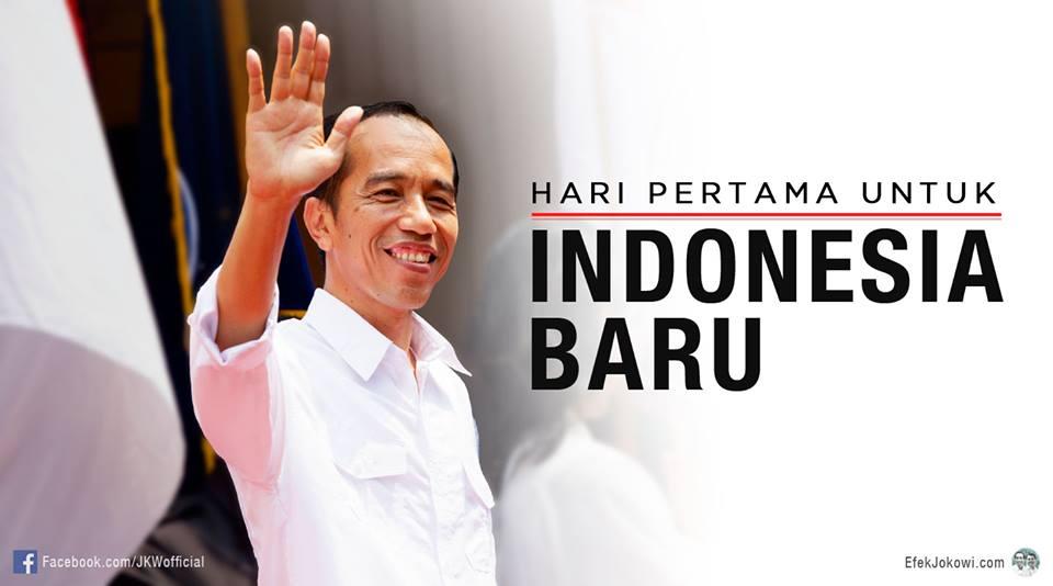 ... Spiritualitas bersama Jokowi - Catatan Hari #1 Indonesa Baru