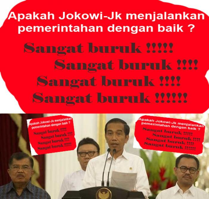 Rakyat makin tercekik dg kenaikan harga di bawah Jokowi