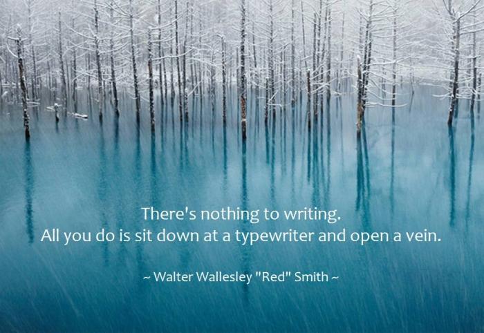 Menulis novel seharusnya menyenangkan. tanpa rasa senang, tak akan ada