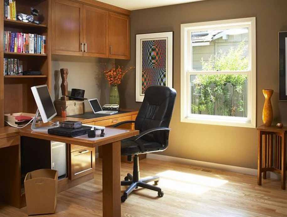 dekorasi tata ruang kantor pribadi gambar rumah idaman