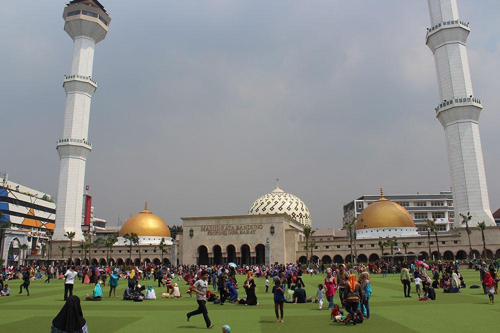 Masjid Agung Bandung Jaman Dulu - Nusagates