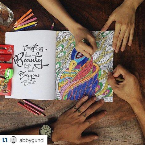 My Own World Buku Mewarnai Anti Stress Pertama Di Indonesia