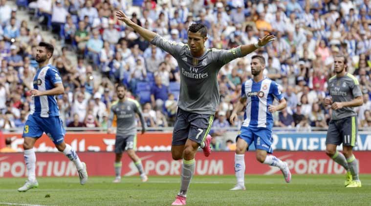 """Ronaldo CR7 Cetak """"Penta Trick"""" 5 Gol di Laga Madrid vs Espanyol -  Kompasiana.com"""