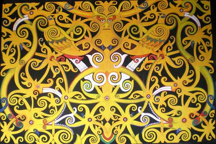 sketsa batik kalimantan oleh hantus tommy halaman 1