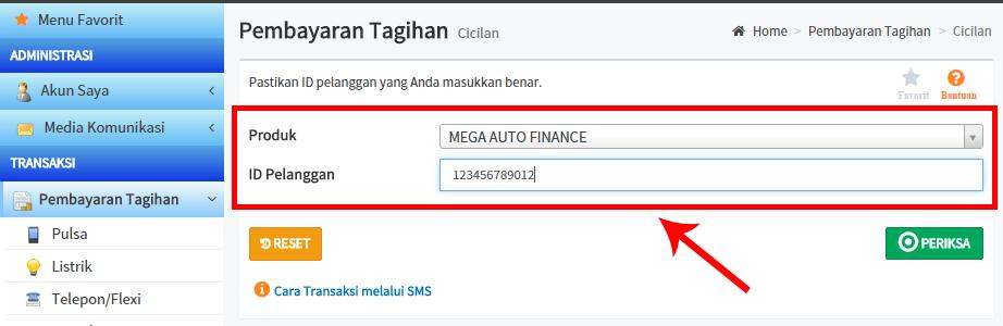 Bayar Angsuran Mega Finance Makin Mudah Dengan Layanan