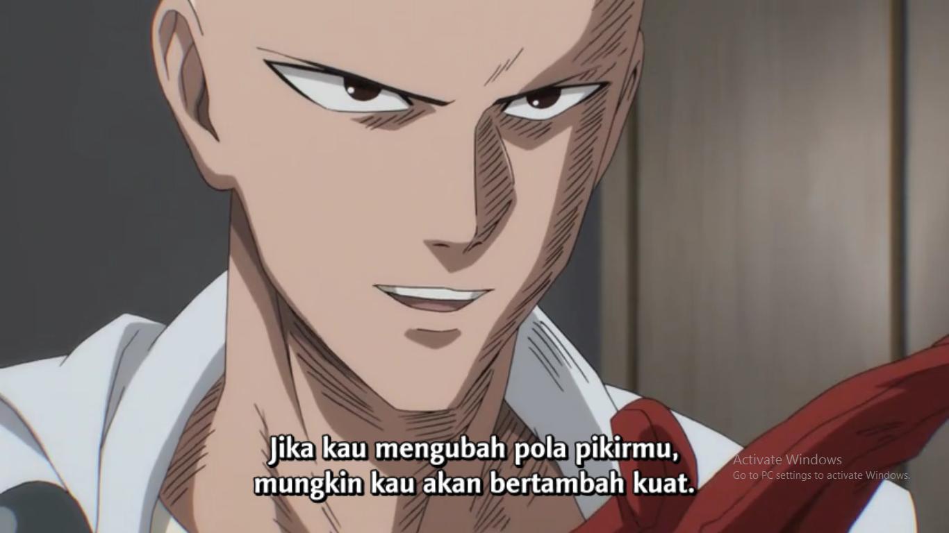 Belajar Kerendahan Hati Dari Anime One Punch Man Oleh Suryo