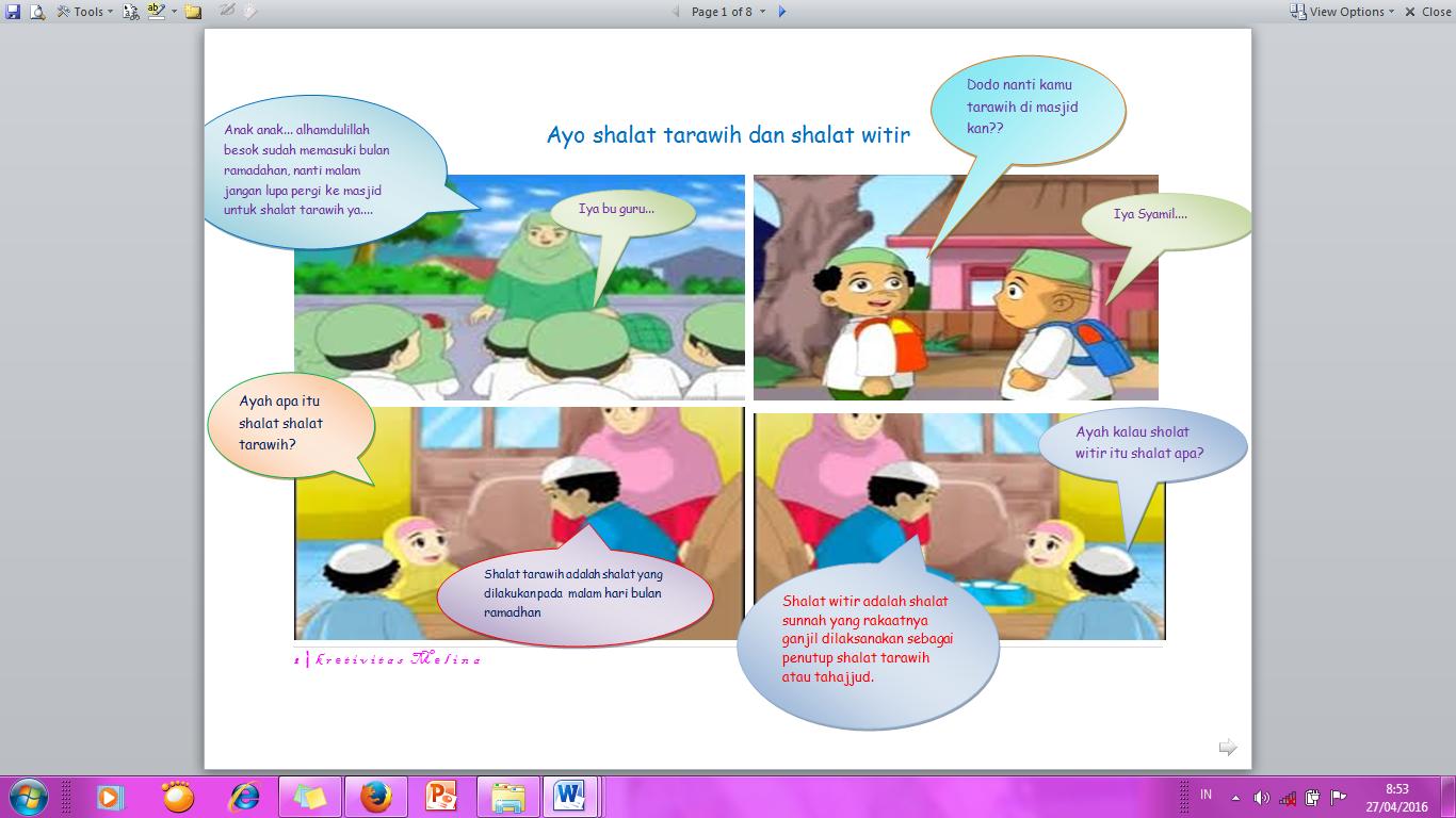 Mendidik Anak Dengan Komik Buat Komik Sendiri Yuk Oleh Melina Nur