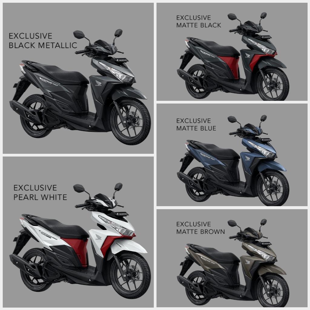 All New Honda Vario 150 Esp Exclusive Black Metallic Otr Jawa Barat Cb 150r Streetfire Raptor Klaten