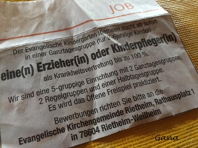 Belajar Bahasa Jerman Contoh Surat Lamaran Kerja Berdasarkan Iklan Halaman 1 Kompasiana Com