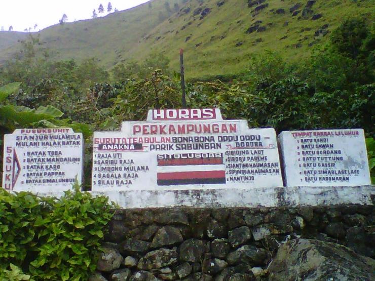 Tebing di Sianjur Mulamula (Sumber: http://solutourandtravel.blogspot.co.id)