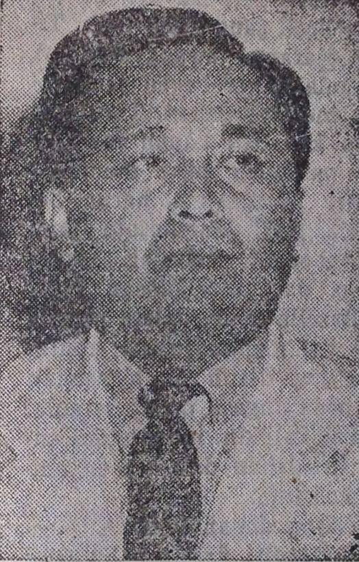 Foto 4: Dr. Moh. Isa, Gubernur Provinsi Sumatera Selatan (Sumber: Pesat, Mingguan Politik Populer; Suara Rakjat Merdeka, No. 11, Th. X, 13 Maret 1954: 17)