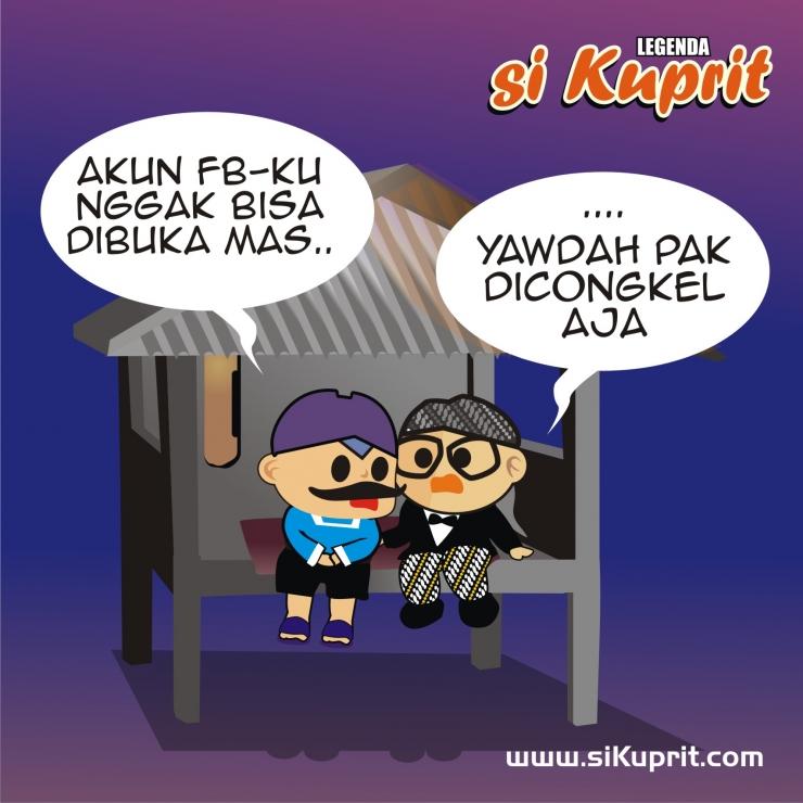 foto diambil dari webtoon si Kuprit karya Wahyu Liz Adaideaja