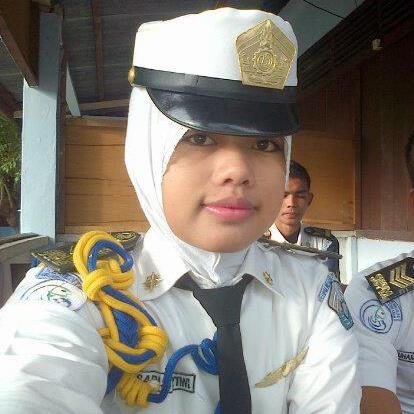 Sarasti Pertiiwi saat jadi siswa SUPM Ladong Aceh. (foto: doc. Tiwi)
