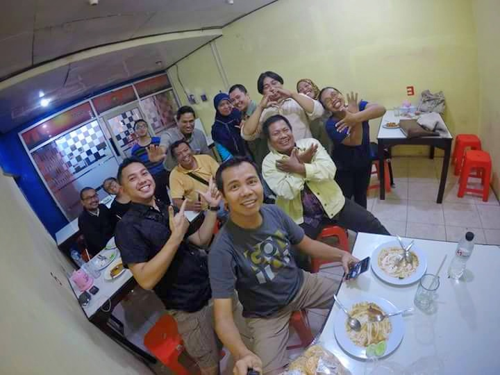 Kopdar KuDeTa bersama Mas Isjet dan Mas Rizky C Saragih / photo by: Isjet