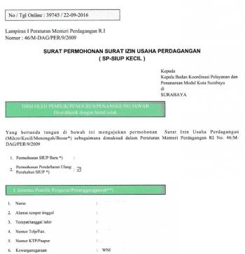 Mudahnya Perpanjangan Izin Usaha Online Di Surabaya Halaman