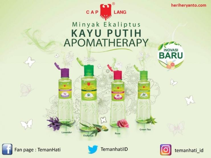 Varian Baru Minyak Kayu Putih Aromatherapy dari Cap Lang