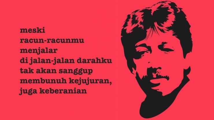 8 Desember, hari ulang tahun pejuang & aktivis HAM, Munir Said Thalib. Anakgundar.com