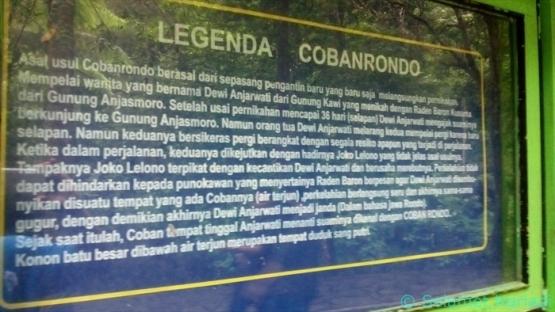 Sejarah Air Terjun Coban Rondo (dok.pribadi)