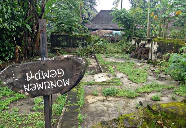 Monumen Gempa (dokumentasi pribadi)
