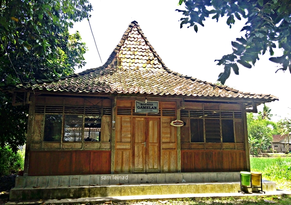 Rumah Gamelan (dokumentasi pribadi)