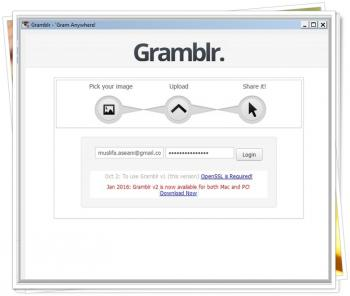Gramblr Sign In Error
